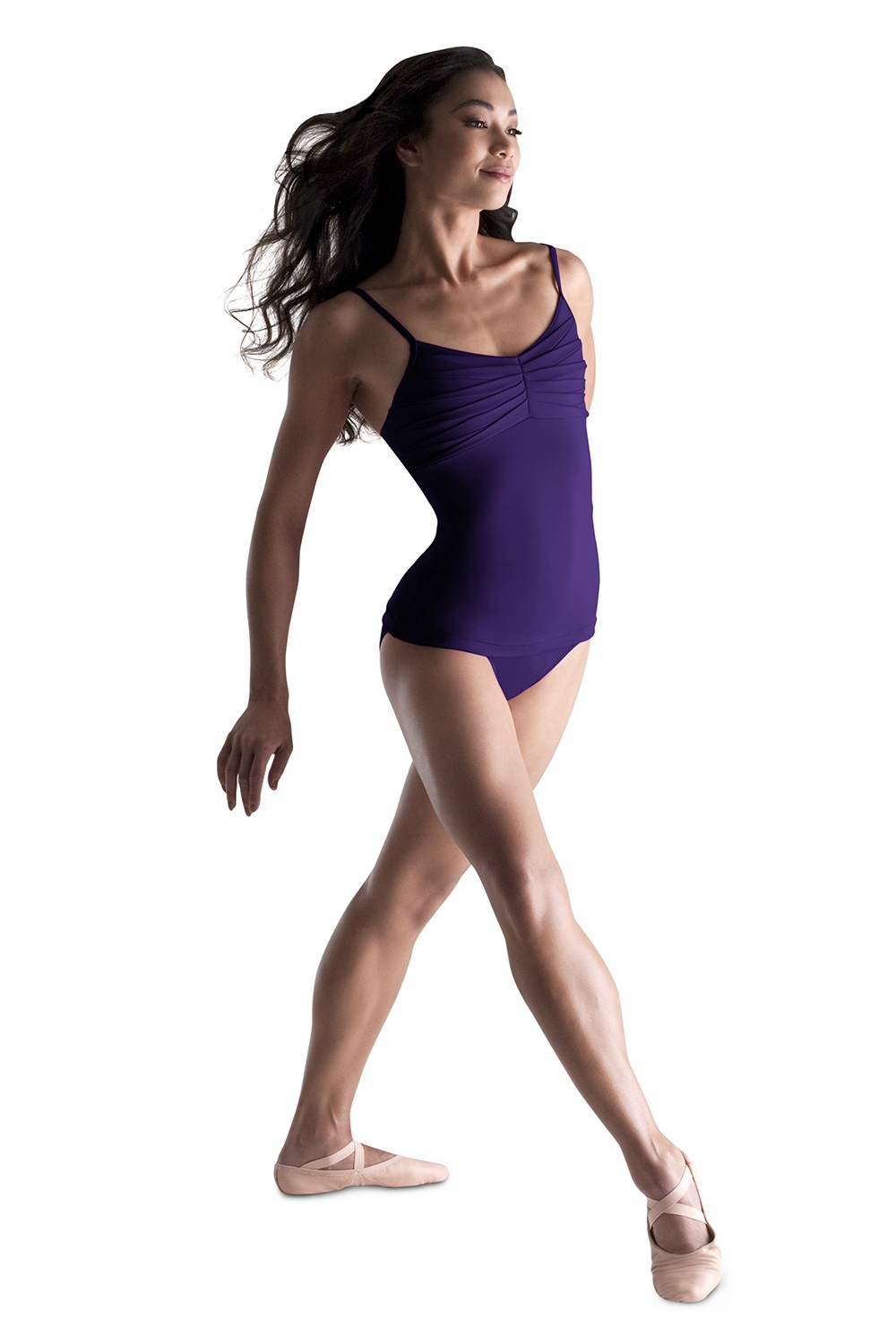 Pleated Top Leotard Women's Dance Leotards