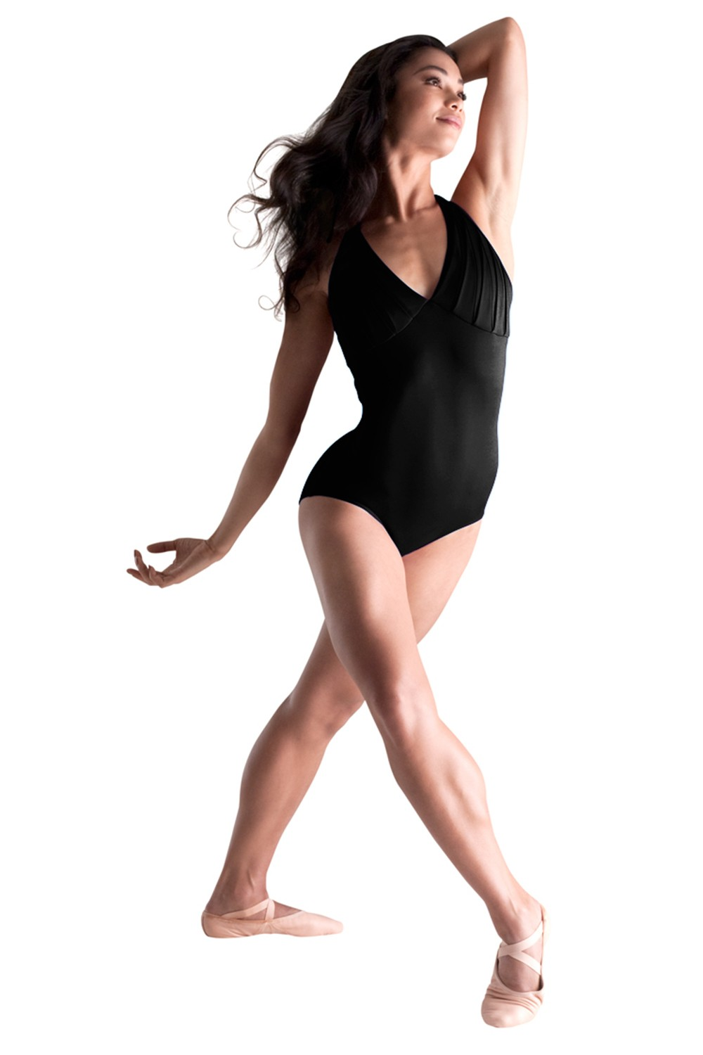 Pleat Top Camisole Leotard Women's Dance Leotards
