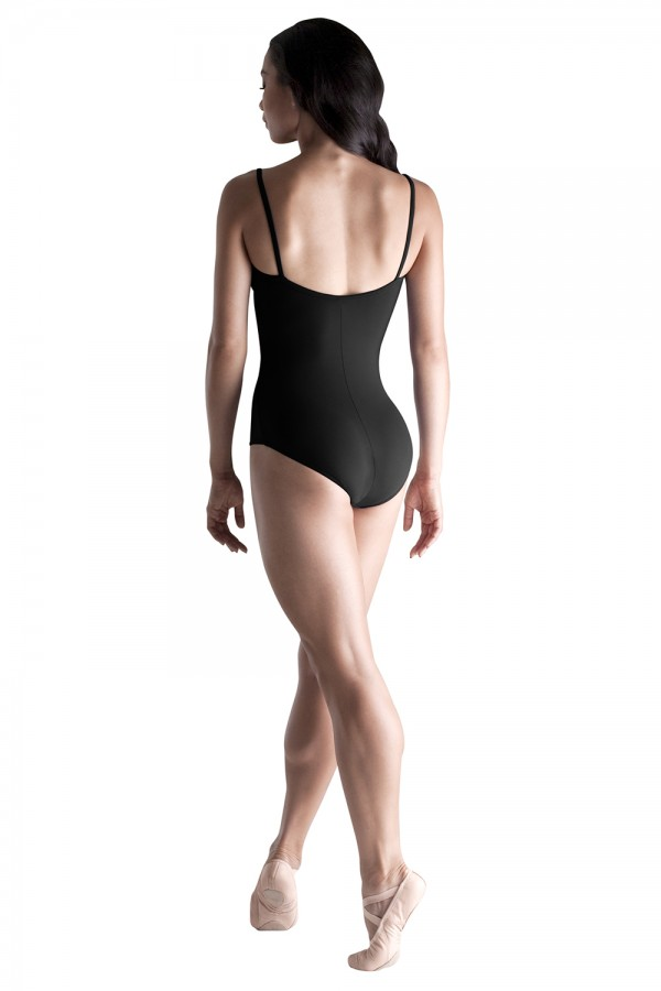 image - Pleated Underbust Band Leo Women's Dance Leotards