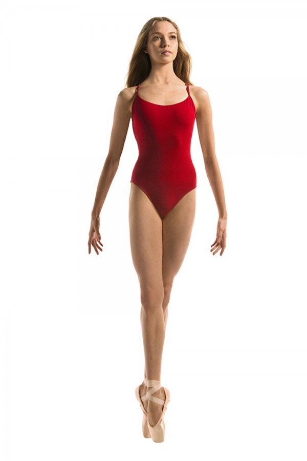 image - Multi Loop Back Strap Leotard Women's Dance Leotards