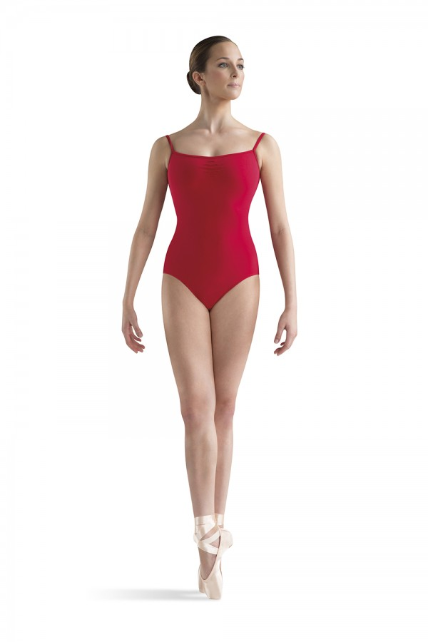 image - Tuck Front Camisole Leotard Women's Dance Leotards