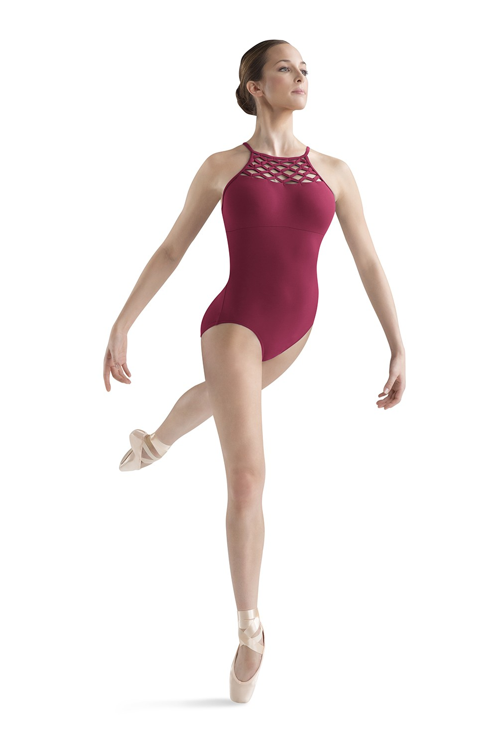 Wave Front Halter Women's Dance Leotards