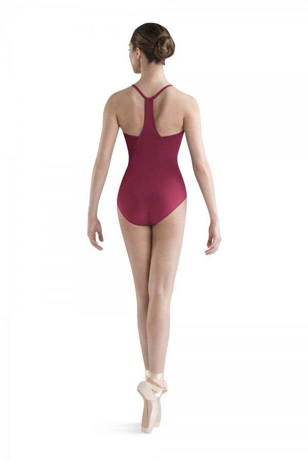 image - Wave Front Halter Women's Dance Leotards
