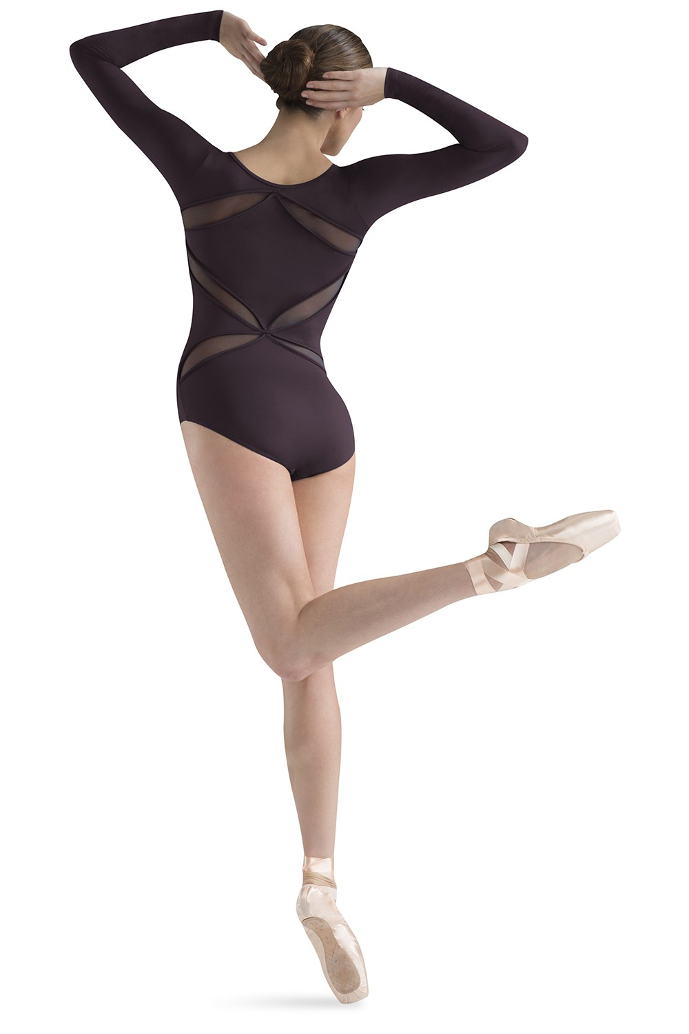 Cut Away Back Long Sleeve Women's Dance Leotards