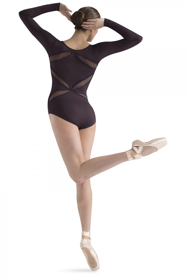 image - Cut away back long sleeve Women's Dance Leotards