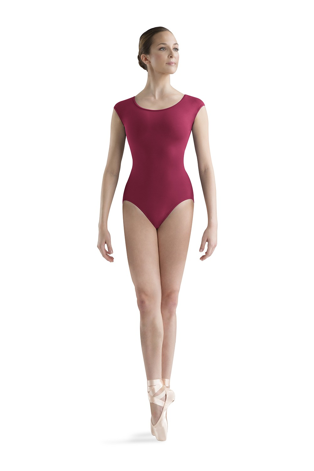 Cut Away Back Cap Sleeve Women's Dance Leotards