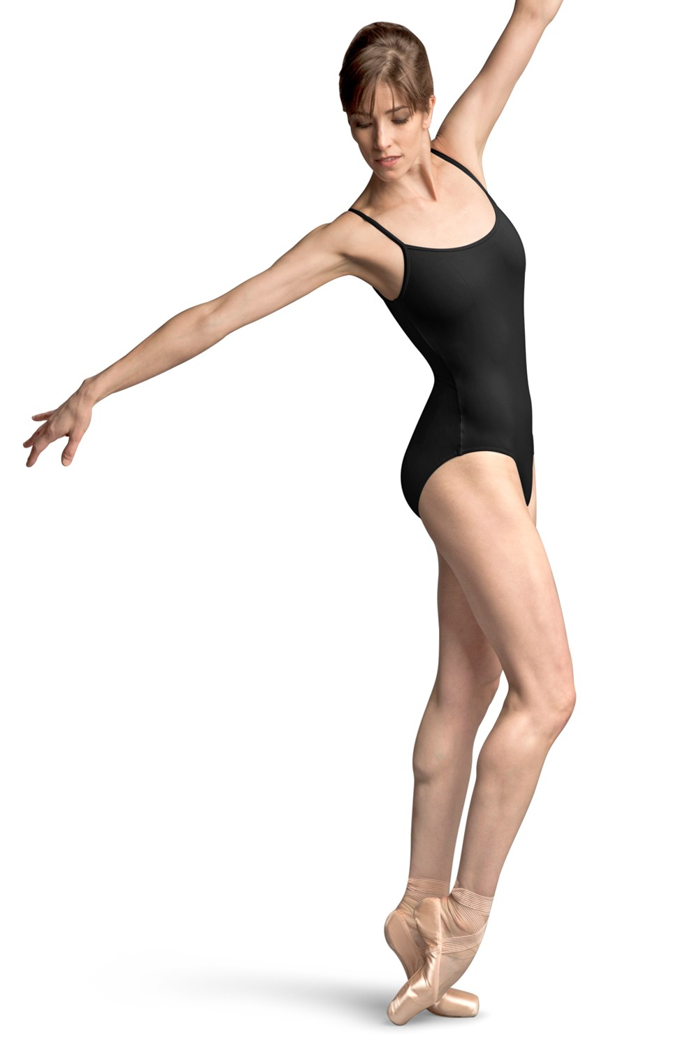 Jfm Basket Weave Deep Vee Back Camisole Leotard Women's Dance Leotards