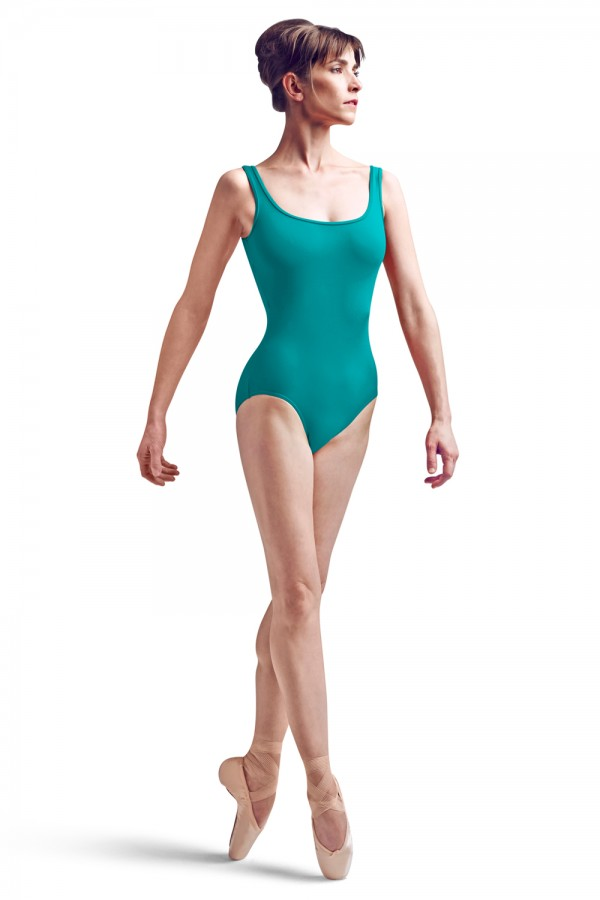 image - Rouleaux Back Tank Leo Women's Dance Leotards