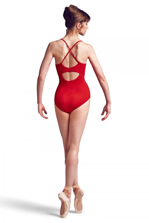 image - Rouleaux Front Cami Leo Women's Dance Leotards