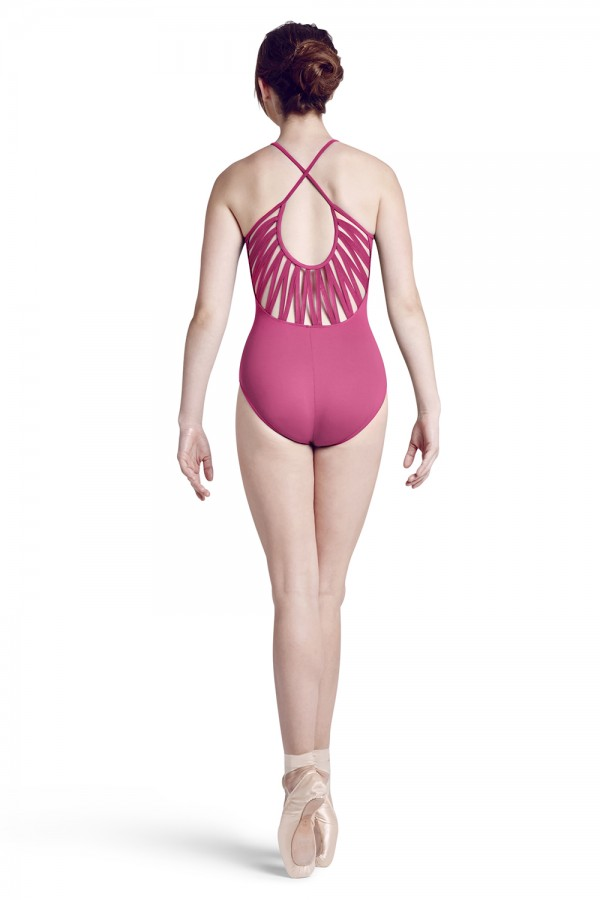 image - High neck front camisole leotard Women's Dance Leotards