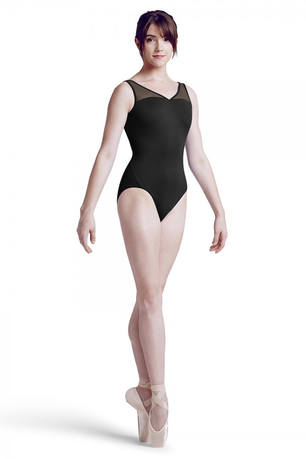 image - Diamond weave tank leotard Women's Dance Leotards
