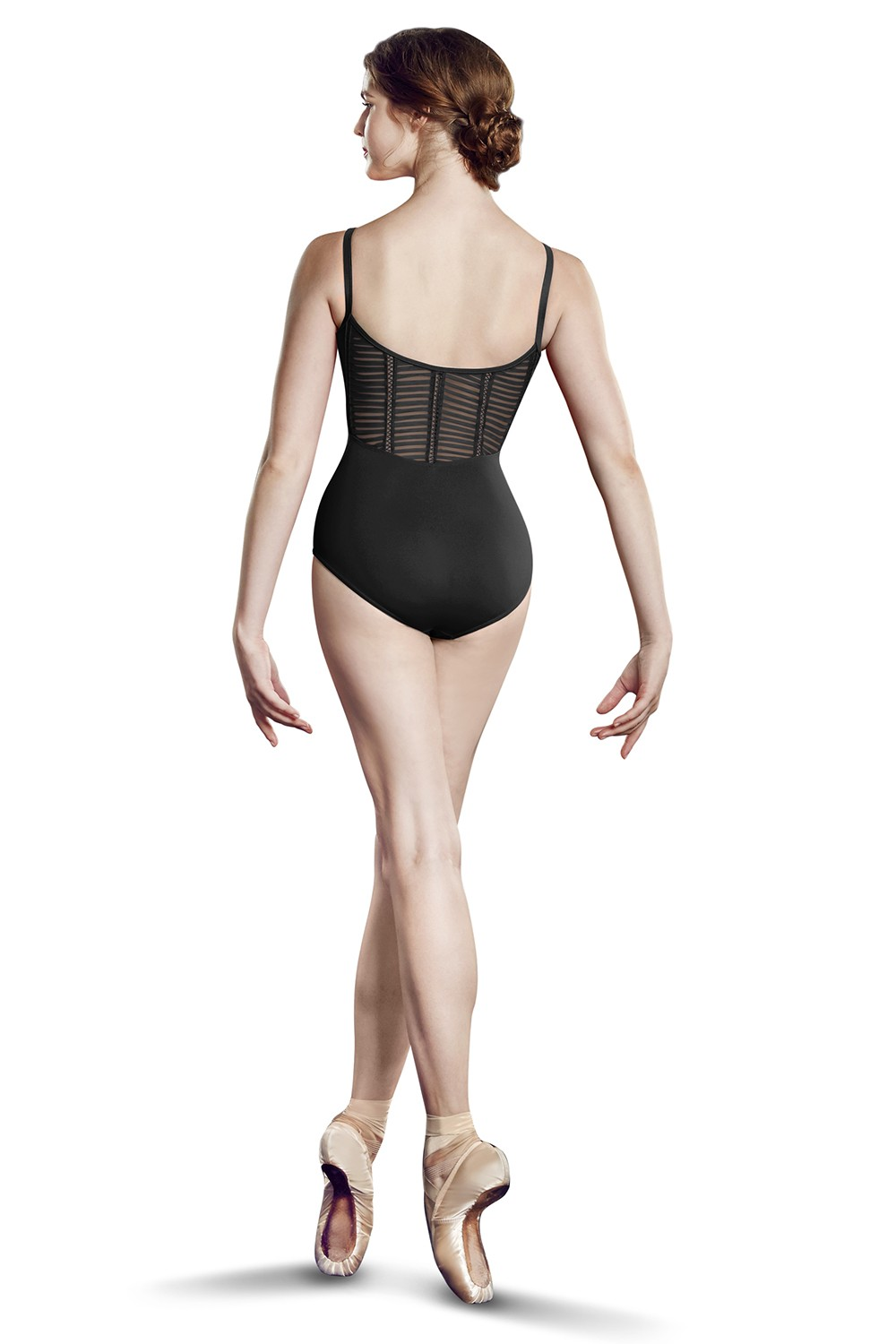 Mesh Back Cami Leo Women's Dance Leotards