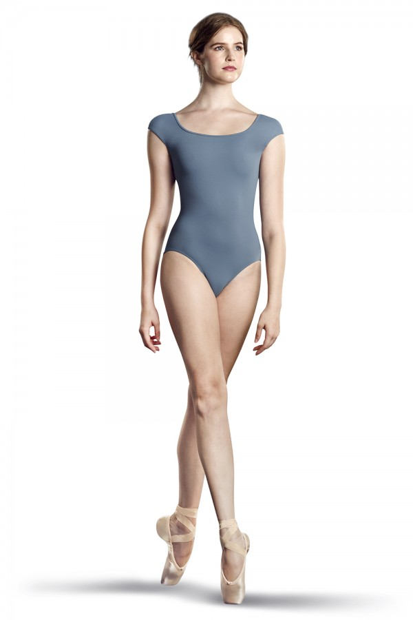 image - Z Elastic Cap Sleeve Leotard Women's Dance Leotards