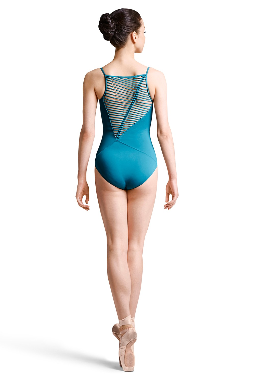 Rouleaux Asymmetrical Cami Leo Women's Dance Leotards