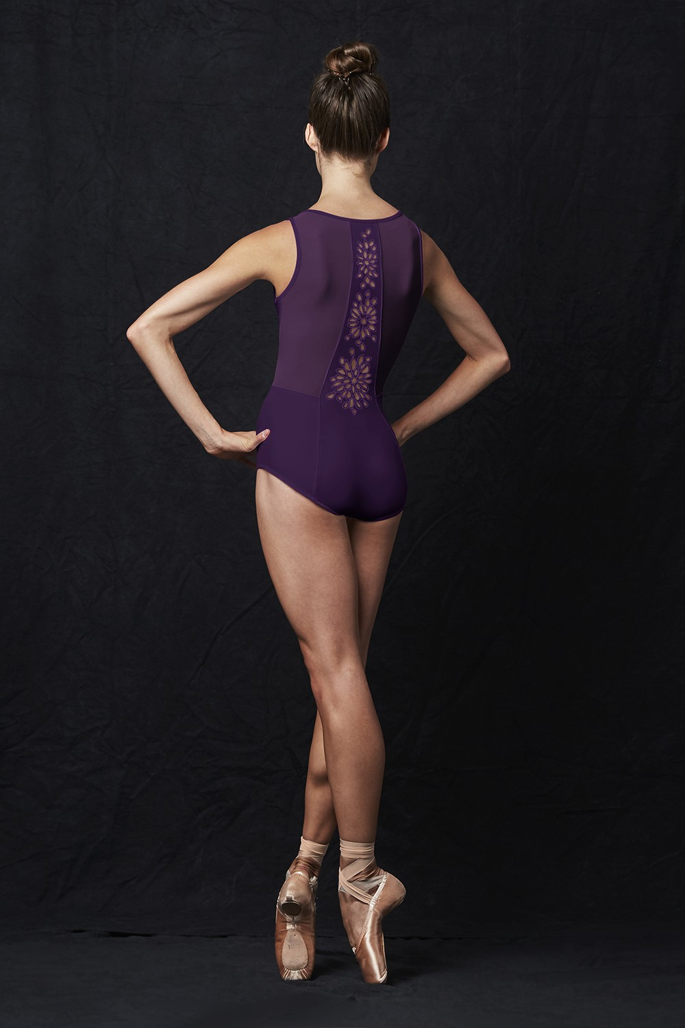 Cut Out Back Tank Leotard Women's Dance Leotards