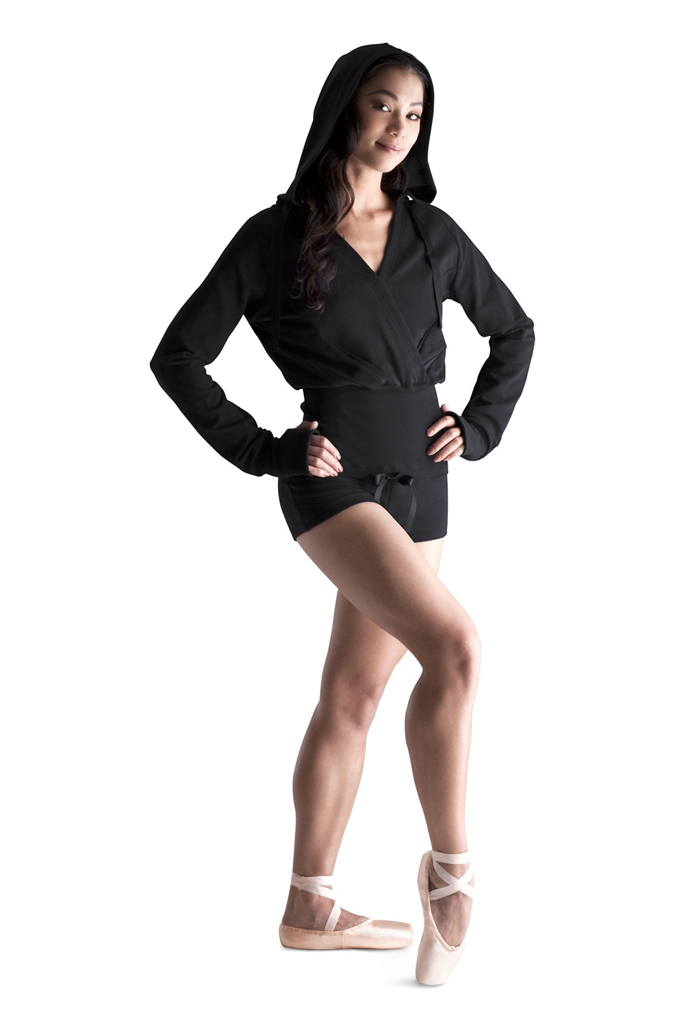 Hooded Jumpsuit Women's Dance Warmups