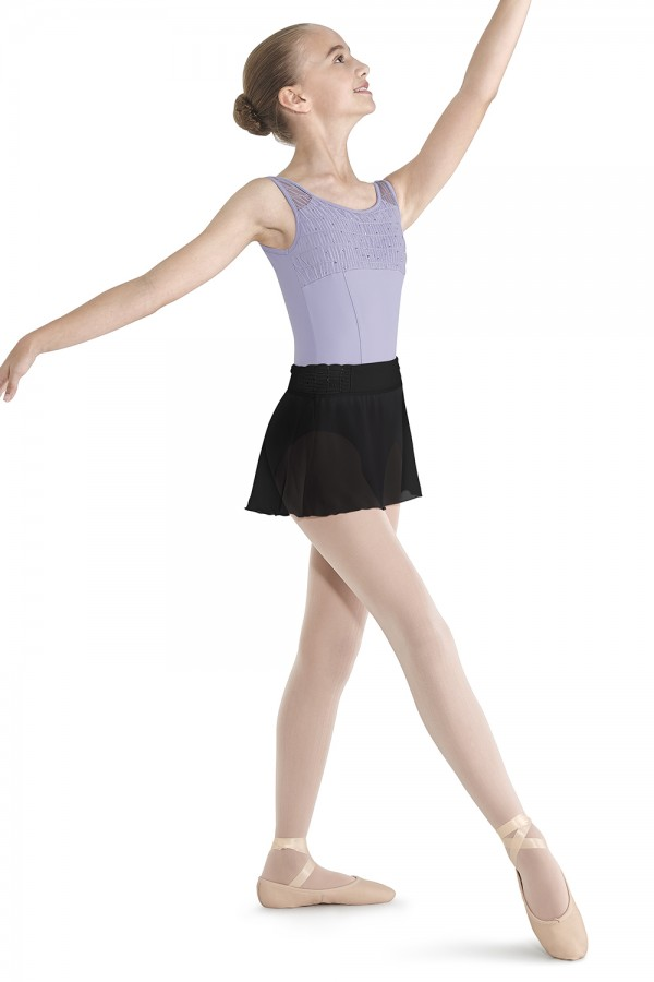 image - Crinkle Mesh Skirt Children's Dance Skirts