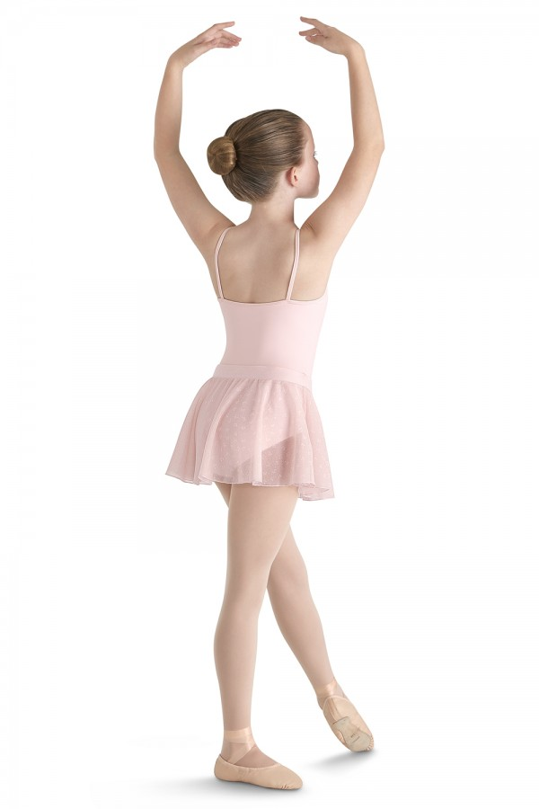 image - Flock Mesh Wrap Skirt Children's Dance Skirts