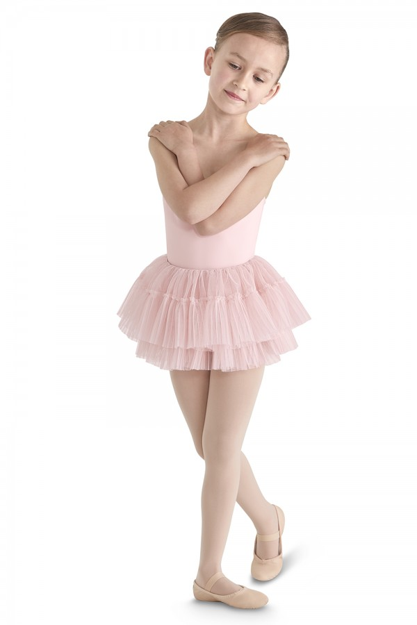 image - Tulle Hem Tutu Skirt Children's Dance Skirts