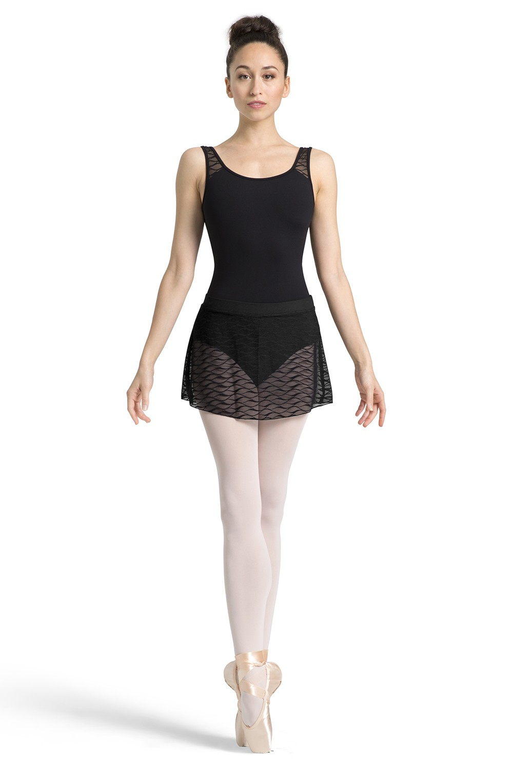Wave Mesh Skirt Women's Dance Skirts