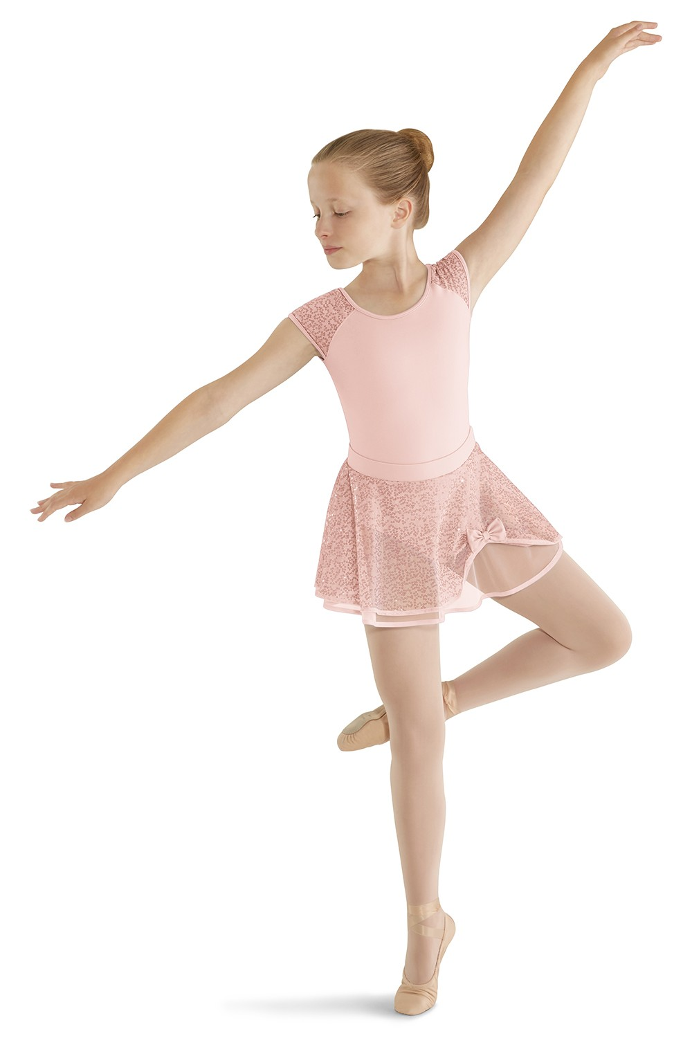 Sequin Tulle Skirt Children's Dance Skirts