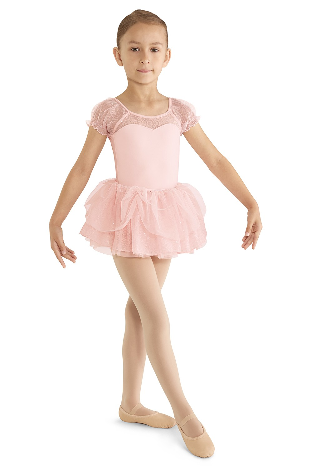 Sequin Tulle Tutu Children's Dance Skirts