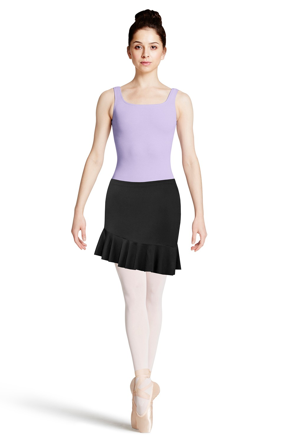Pull On Asymmetrical Skirt Women's Dance Skirts