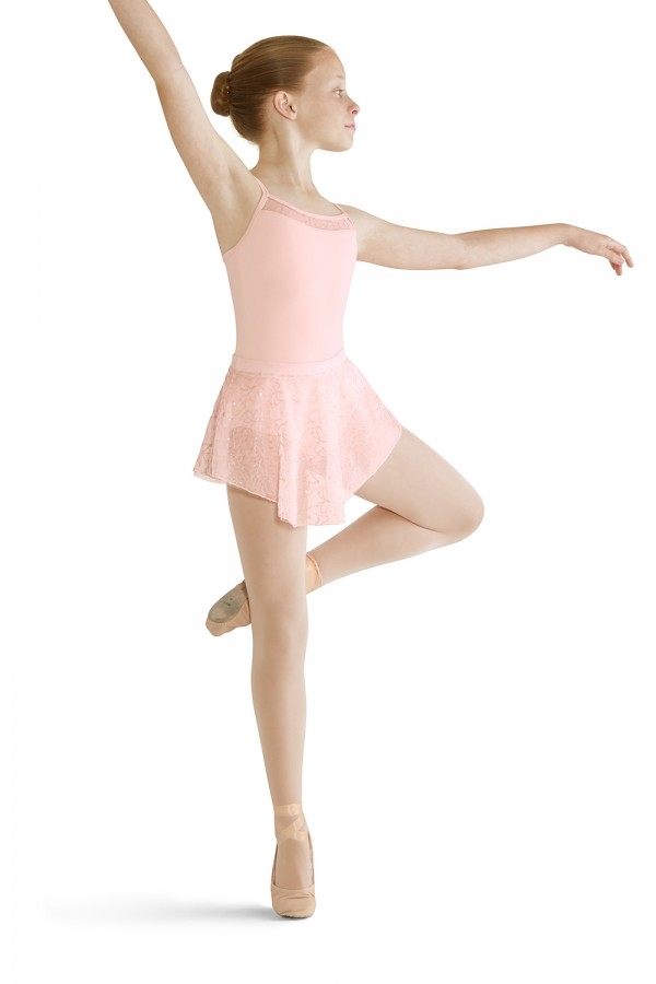 image - Uneven Hem Skirt Children's Dance Skirts