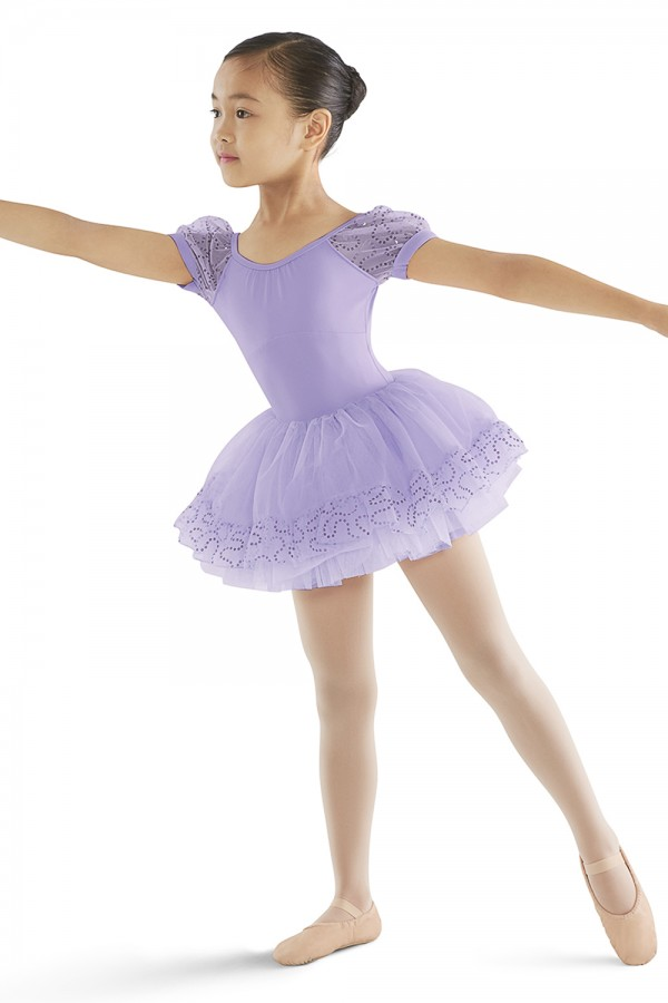 image - Ruffle Hem Waist Tutu Skirt Children's Dance Skirts