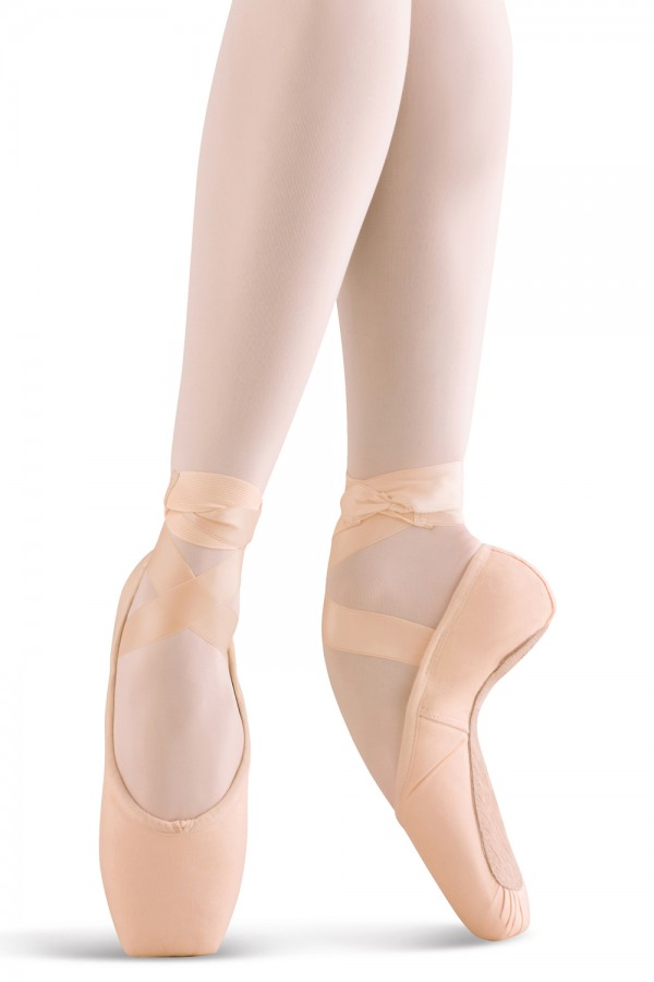 image - Whisper Matte Satin Pointe Shoes