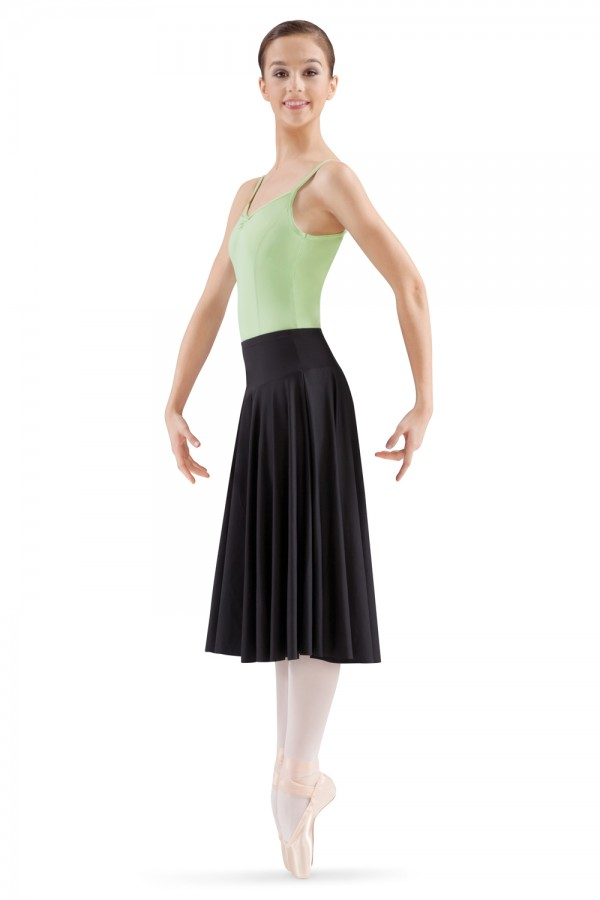 image - Knee Length Circle Skirt Women's Dance Skirts