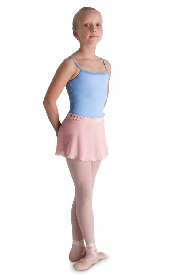 image - Pleat Detail Wrap Skirt Children's Dance Skirts