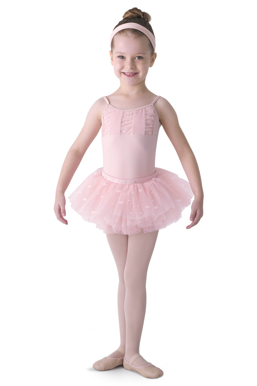 Velvet Heart Tutu Skirt Childrens Dance Skirts