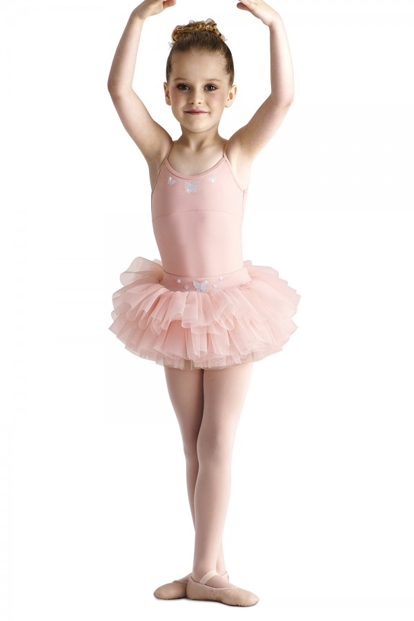 image - Butterfly Waist Tutu Skirt Children's Dance Skirts