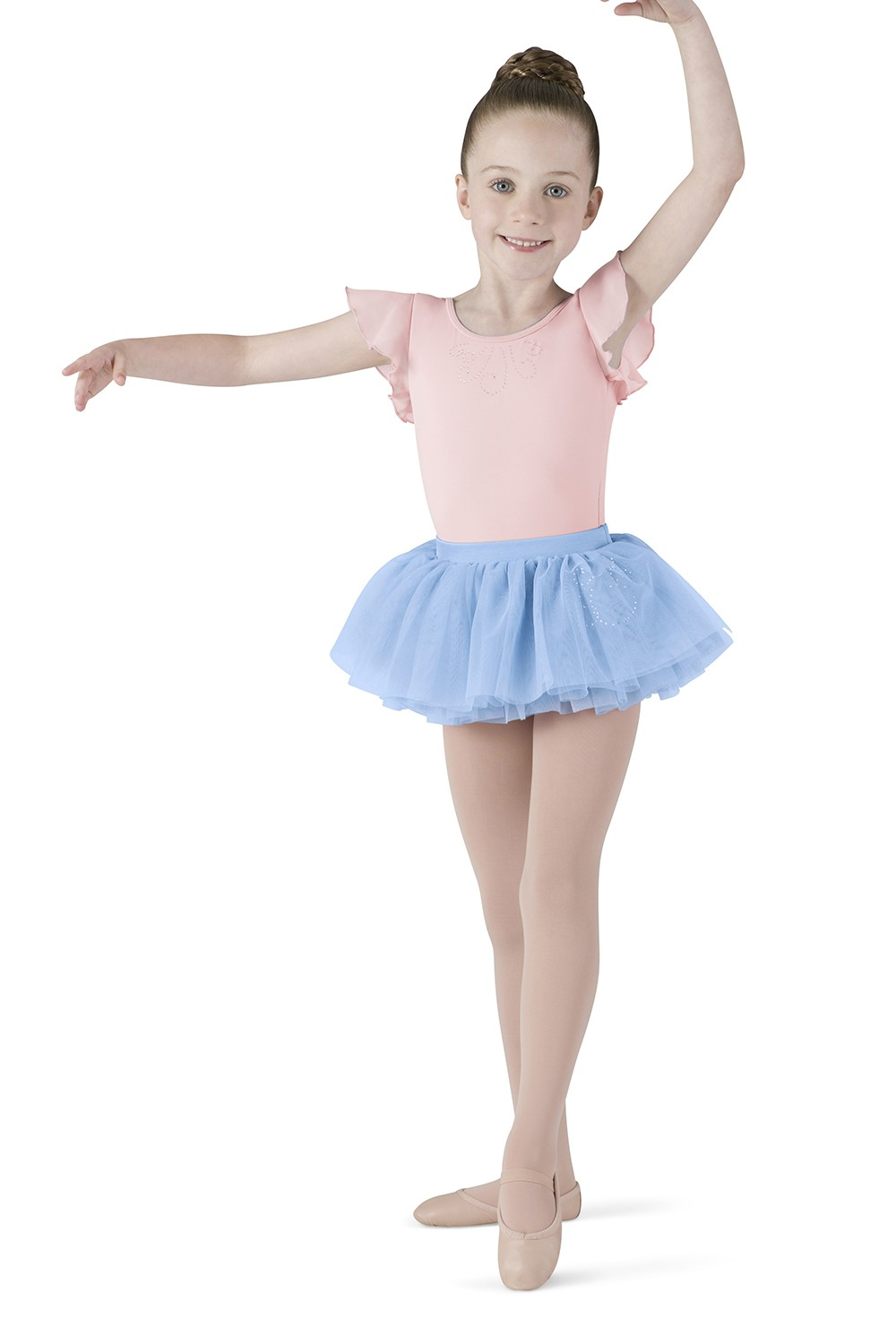 Diamante Swirl Tutu Children's Dance Skirts