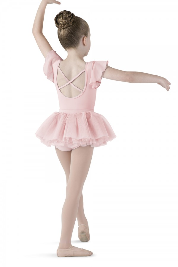 image - Diamante Swirl Tutu Children's Dance Skirts