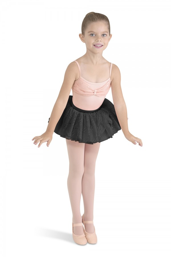 image - Overlap Front Tutu Children's Dance Skirts