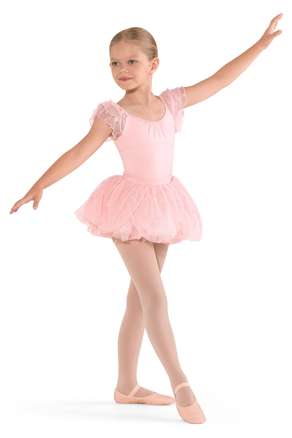 Petal Tutu Skirt Children's Dance Skirts