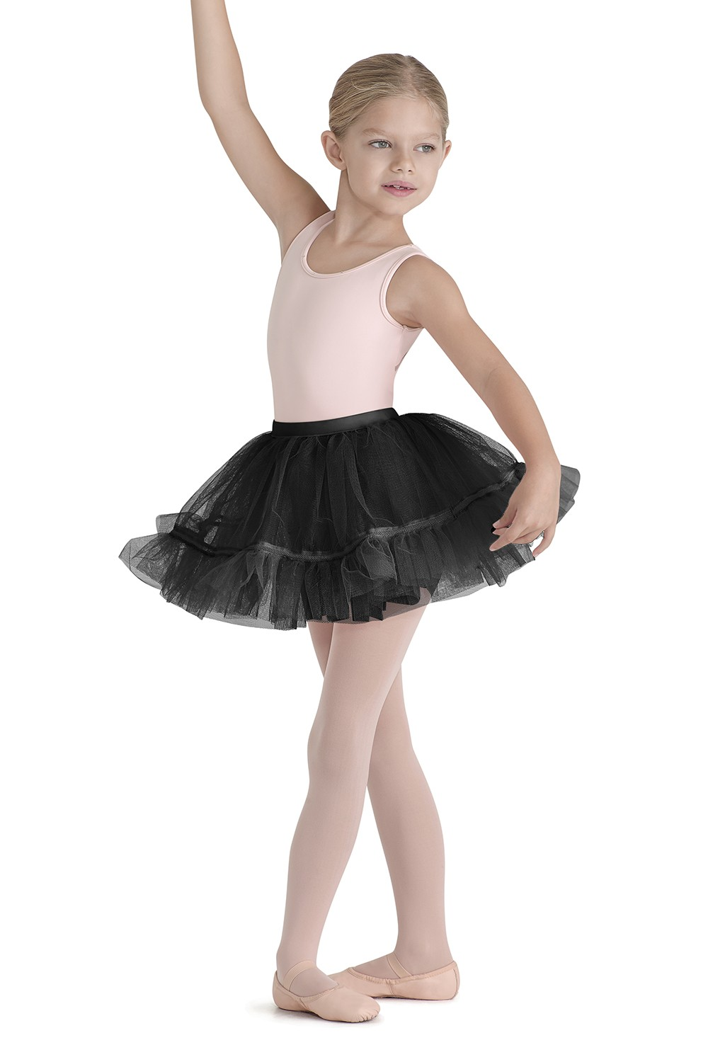 Tutu With Lattice Trim Children's Dance Skirts