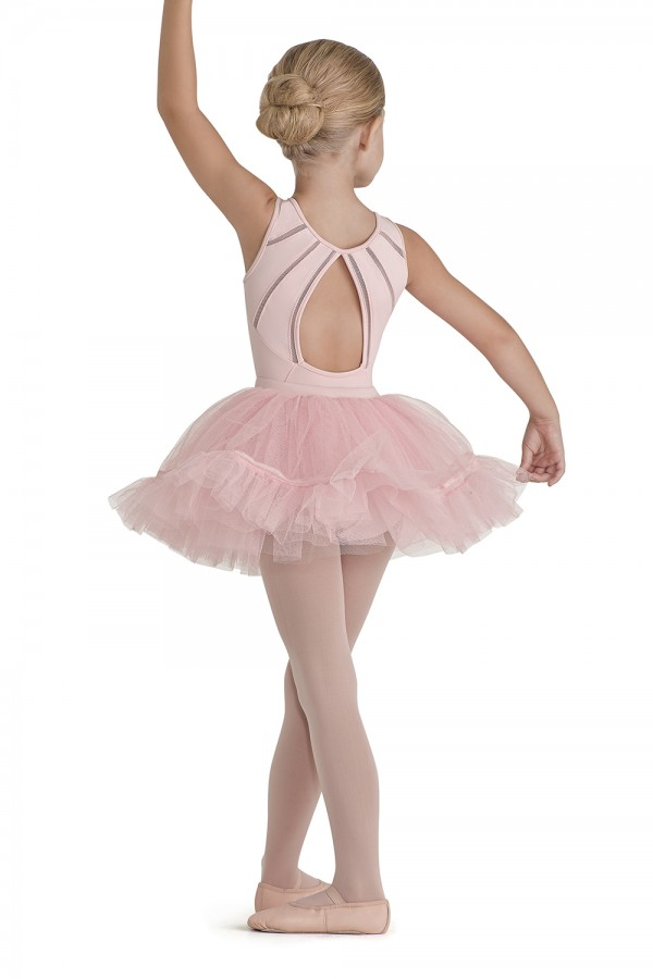 image - Tutu With Lattice Trim Children's Dance Skirts