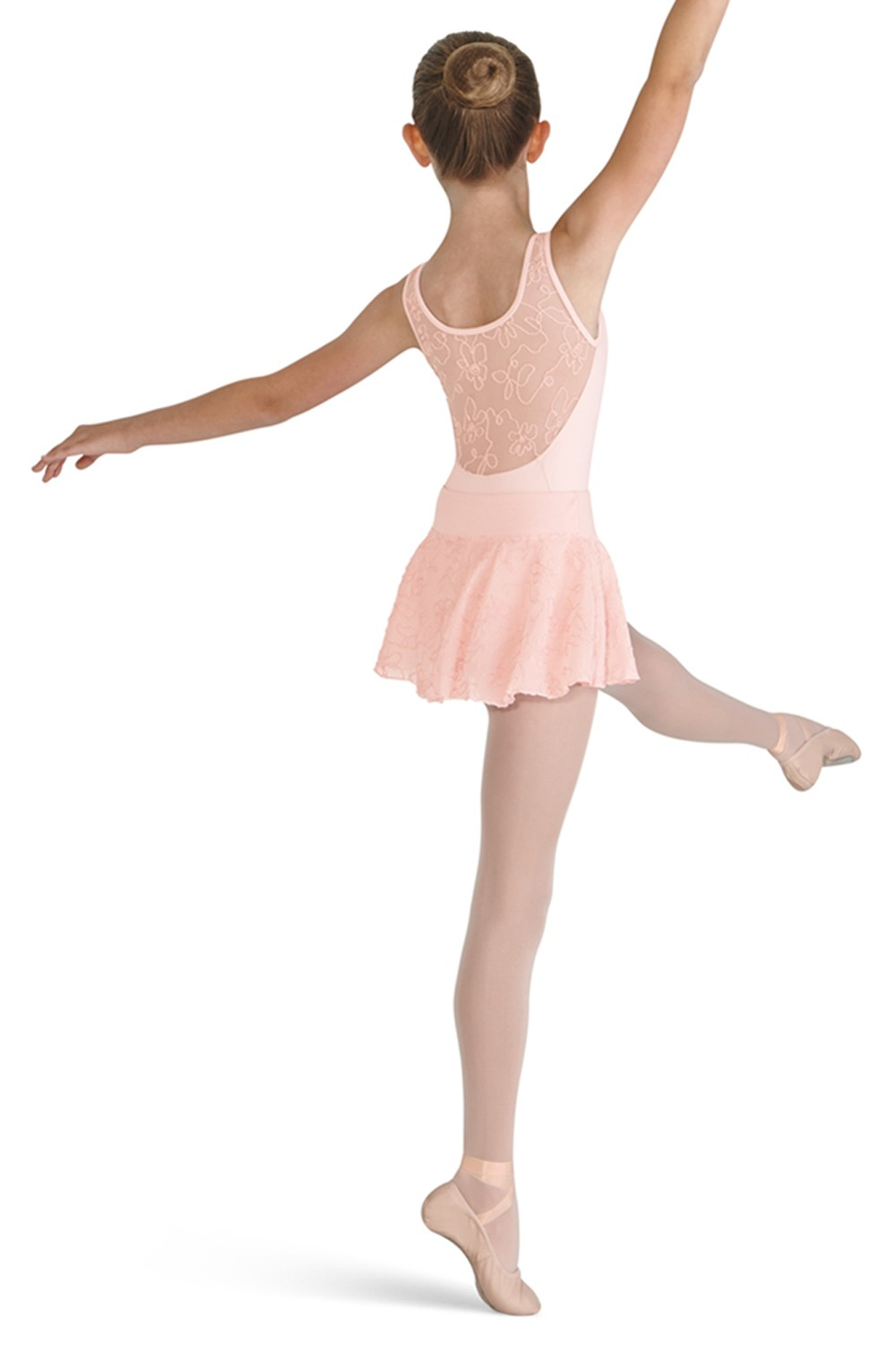 Cord Mesh Skirt Children's Dance Skirts