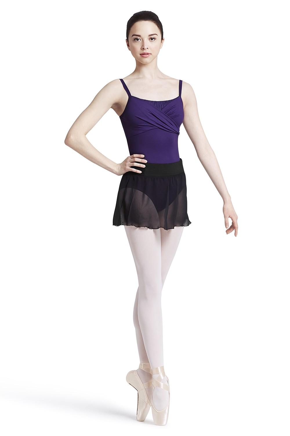 Georgette Ballet Skirt Women's Dance Skirts
