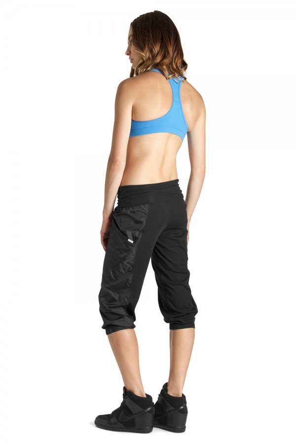 image - RIB PANEL 3/4 PANT Women's Dance Pants