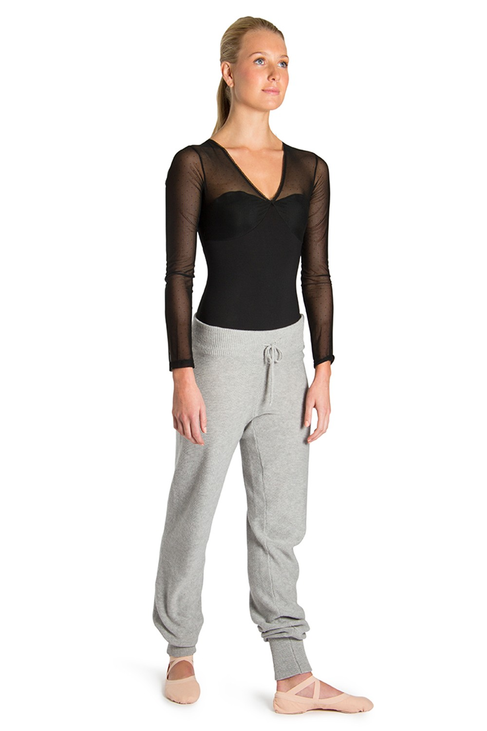 Knitted Sweatpant Women's Dance Warmups