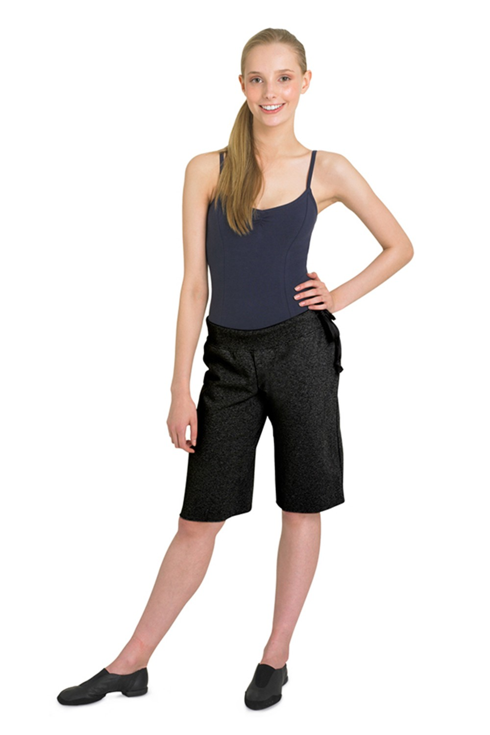 Loose Short W/ Drawstring Band Women's Dance Shorts