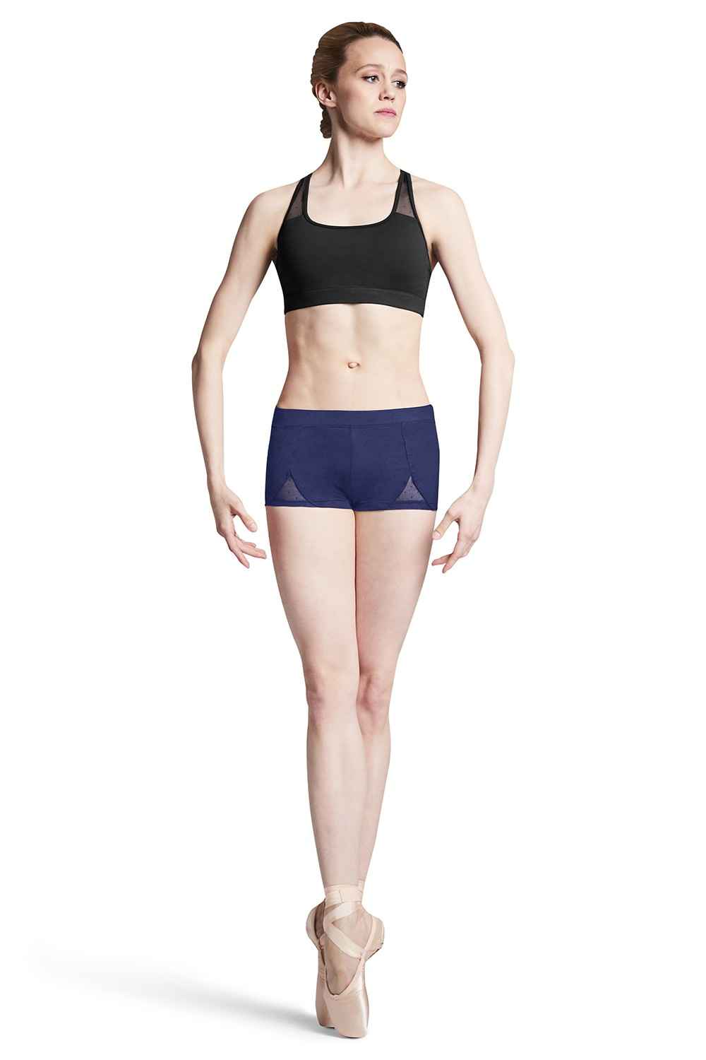 Mesh Shorts Women's Dance Shorts