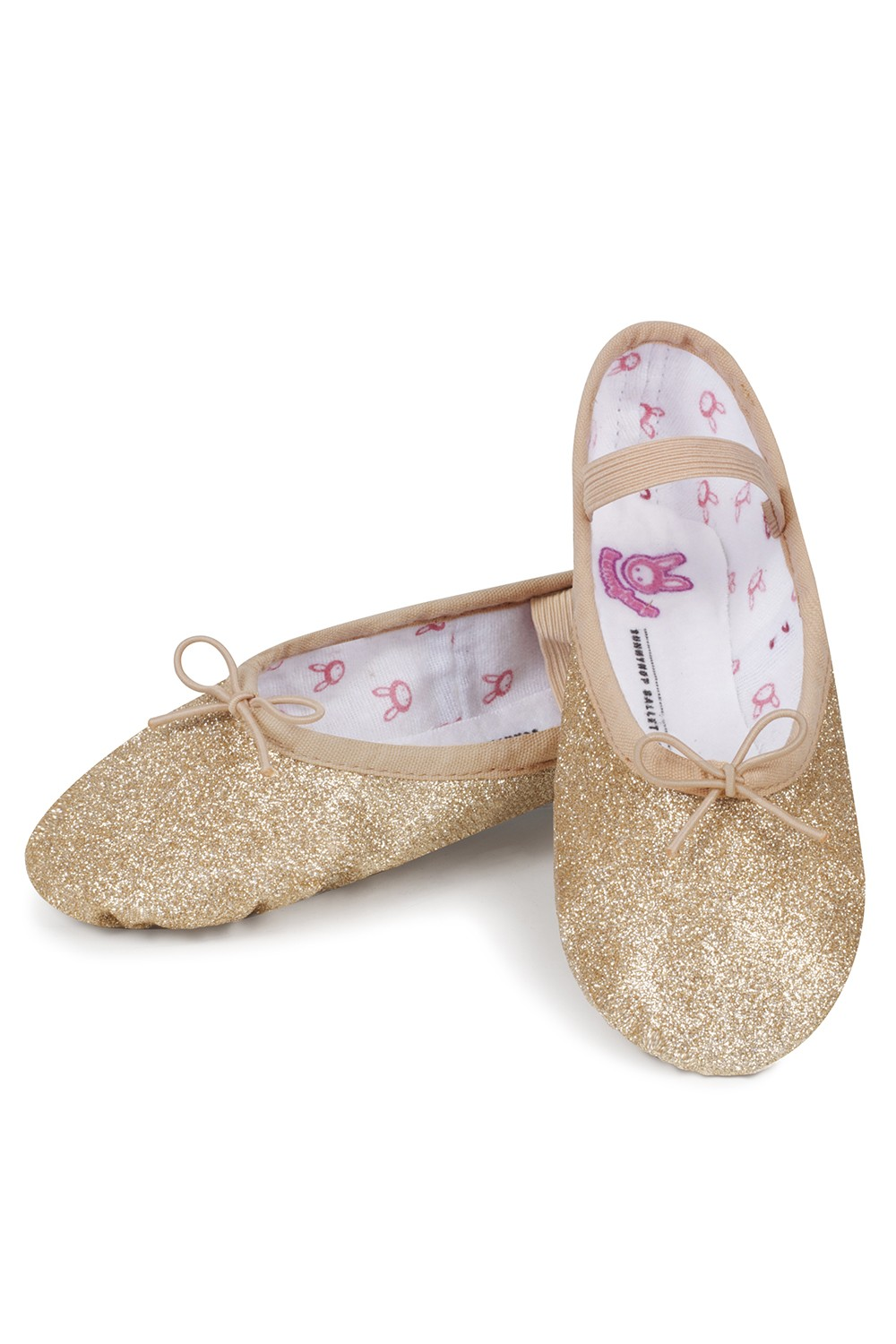 Glitterdust - Bambina Girl's Ballet Shoes