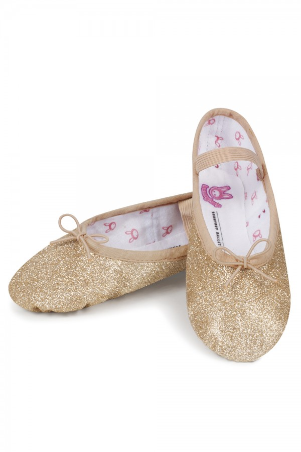 image - Glitterdust - Girls Girl's Ballet Shoes