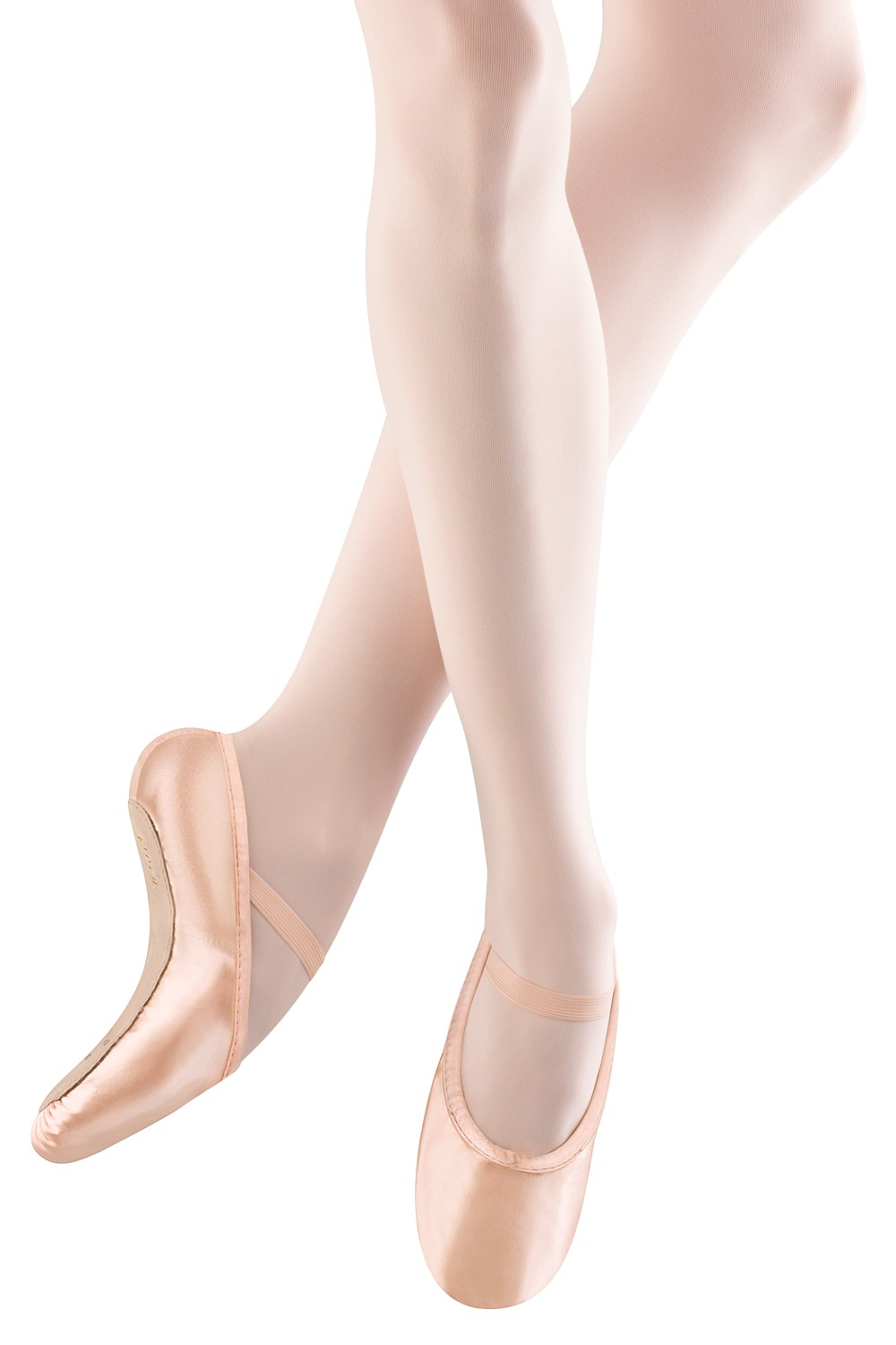 Stretch Satin Girl's Ballet Shoes