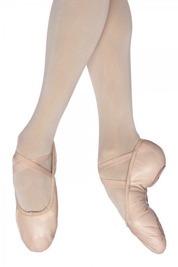 image - PUMP LEATHER SPLIT SOLE Women's Ballet Shoes